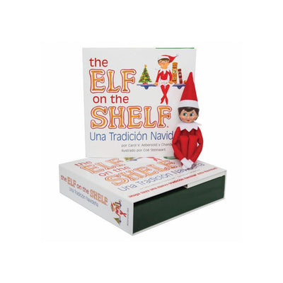 The Elf on the Shelf - Girl - Light Tone, Blue Eyes (Spanish Edition)