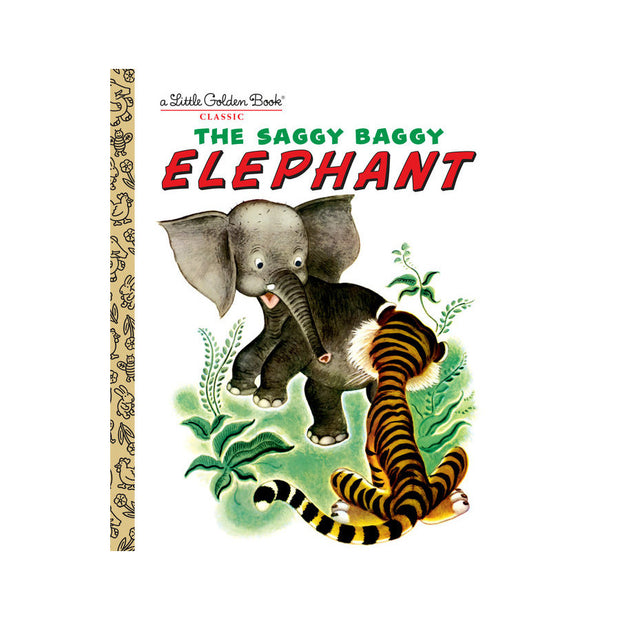 Little Golden Book - The Saggy Baggy Elephant