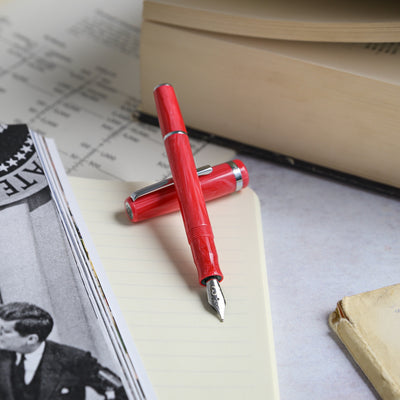 Esterbrook JR Pocket Fountain Pen - Carmine Red