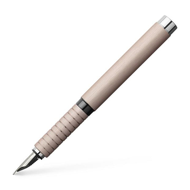 Faber-Castell Essentio Fountain Pen - Aluminum Rose