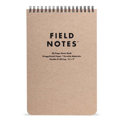 Field Notes Steno Notebook,  Gregg Ruled Paper, 80 Page Memo Book,