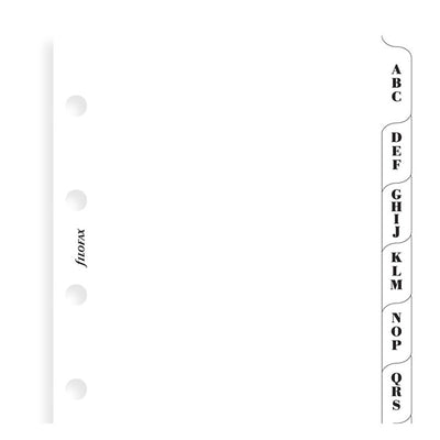 Filofax A-Z Index Divider - Mini