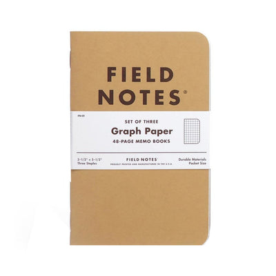 Field Notes Original Graph 3-Pack