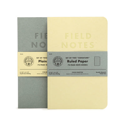 Field Notes Signature Series - Plain Sketchbook