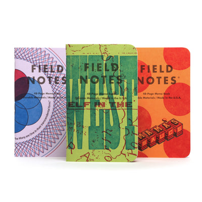 Field Notes - The United States of Letterpress  - Pack A