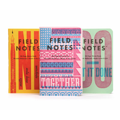 Field Notes - The United States of Letterpress - Pack B