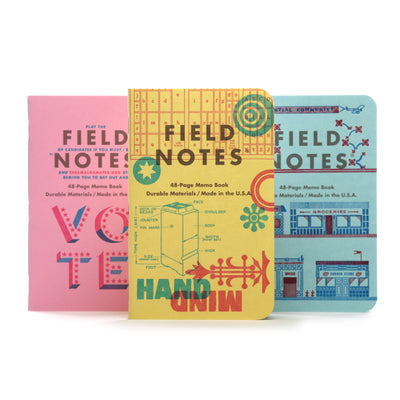 Field Notes - The United States of Letterpress - Pack C