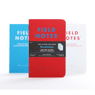 Field Notes Winter Special Edition - Resolution
