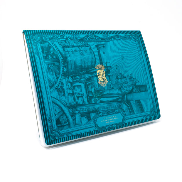 Ferris Wheel Press The Olde Unionville Notepad - Teal