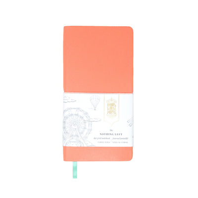 Ferris Wheel Press Nothing Left Notebook - Coral Soda