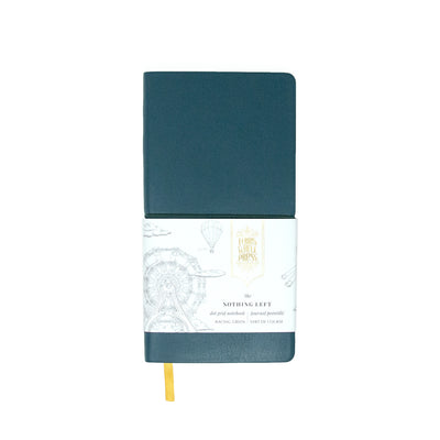 Ferris Wheel Press Nothing Left Notebook - Racing Green