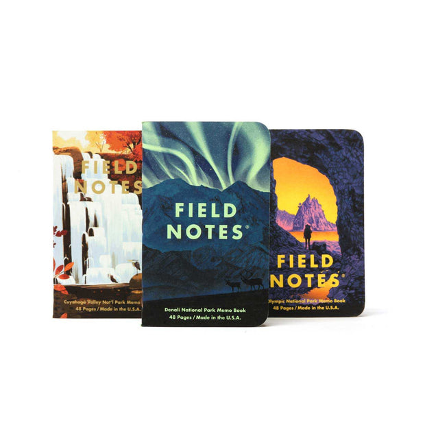 Field Notes National Parks Series E