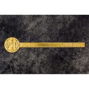Galen Leather Brass Letter Opener