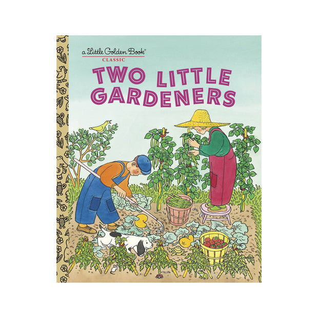 Little Golden Book - Two Little Gardeners