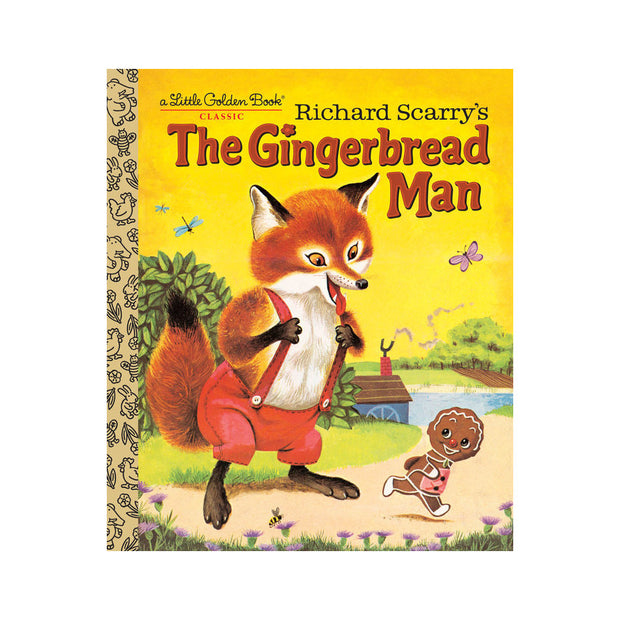 Little Golden Book - The Gingerbread Man