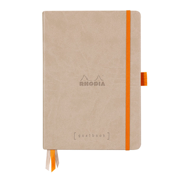 Rhodia Hardcover Goalbook - Beige
