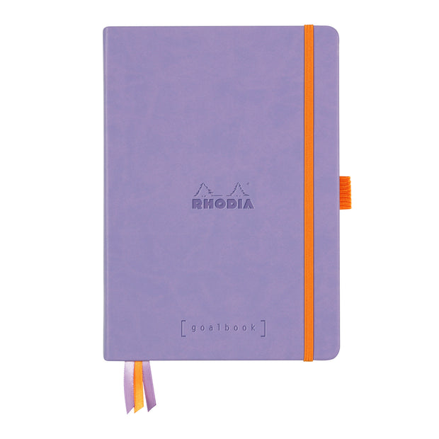 Rhodia Hardcover Goalbook - Iris