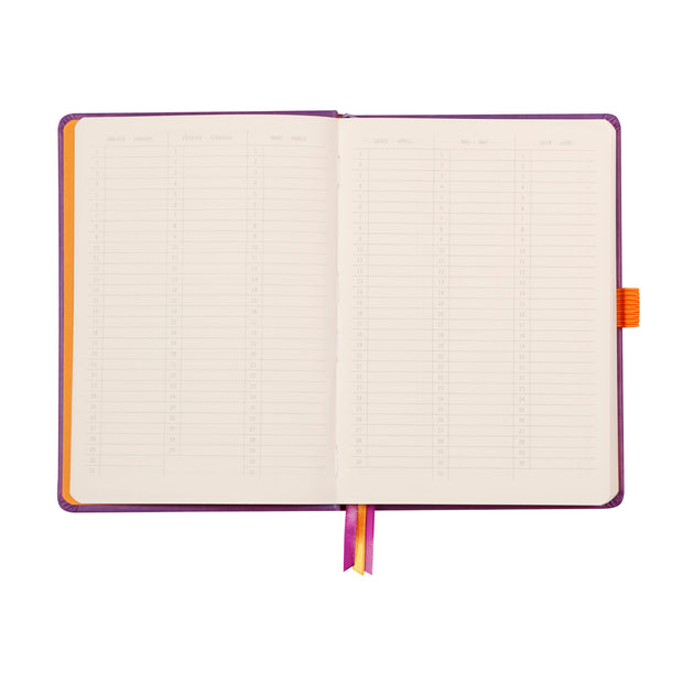 Rhodia Hardcover Goalbook - Orange