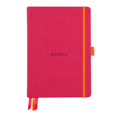 Rhodia Hardcover Goalbook - Raspberry