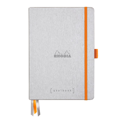Rhodia Hardcover Goalbook - Silver