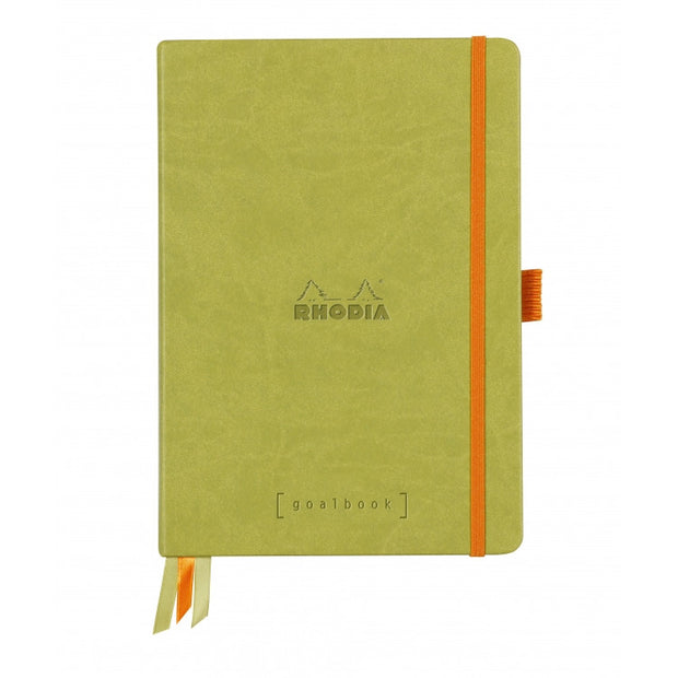 Rhodia Hardcover Goalbook - Anise Green