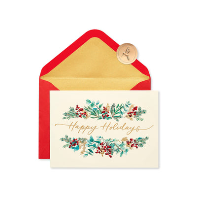 Papyrus Boxed Cards - Happy Holidays