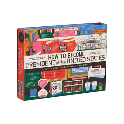 How to Become President of the United States Two Sided Puzzle