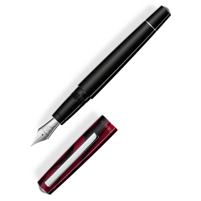 Tibaldi Infrangible Fountain Pen - Muave Red