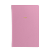 "Letts Icon Hardcover Notebook - 5 1/8"" x 7 7/8"" - Dot Grid - Pink"