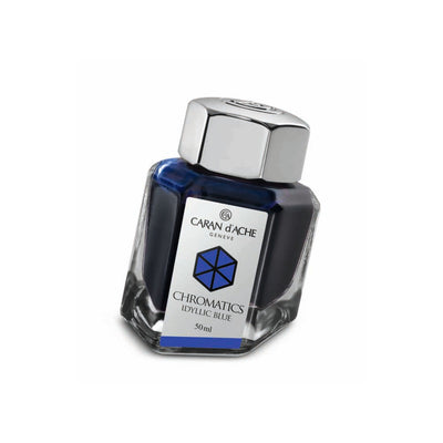 Caran d'Ache Chromatic - Idyllic Blue - 50ml Bottled Ink