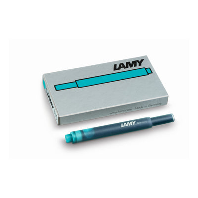 Lamy T10 Ink Cartridges - Turquoise