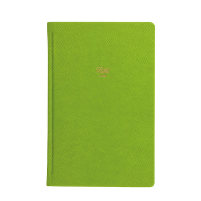 "Letts Legacy Hardcover Notebook - 5 1/8"" x 7 7/8"" - Dot Grid - Green"