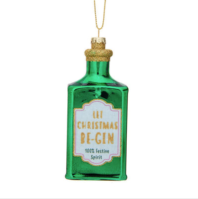 Let Christmas Be-Gin Ornament