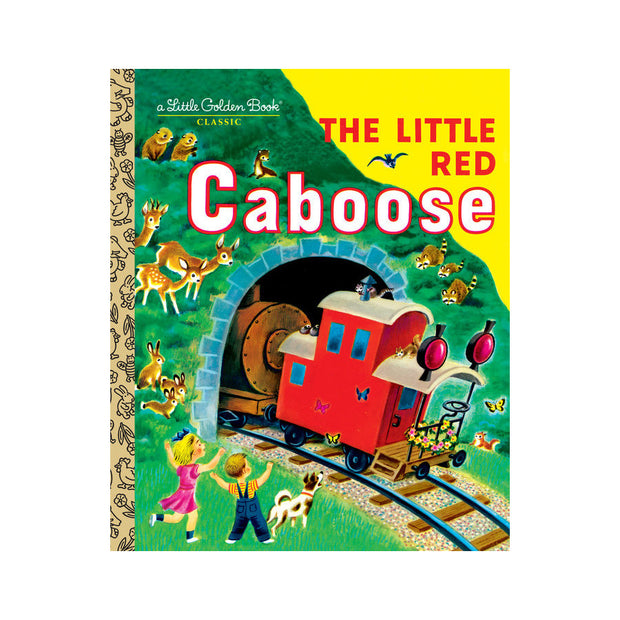 Little Golden Book - The Little Red Caboose