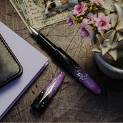 Benu Briolette Fountain Pen - Luminous Orchid