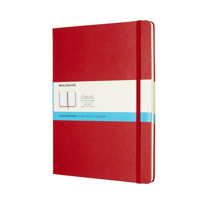 Moleskine Classic Notebook - A4 - Dot - Red
