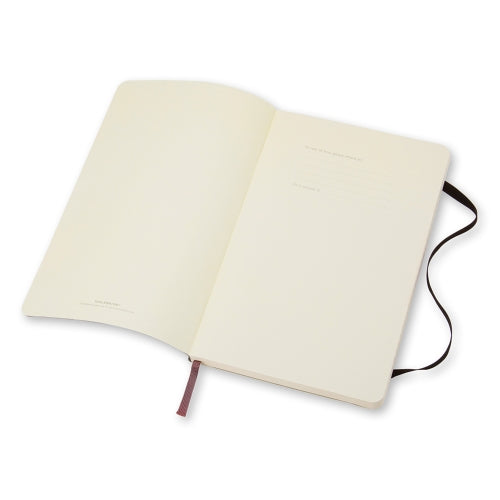 Moleskine Classic Notebook -  Softcover A5 - Ruled - Black