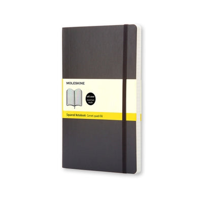 Moleskine Classic Notebook -  Softcover A5 - Graph - Black