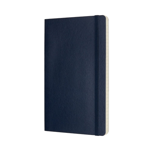 Moleskine Classic Notebook -  Softcover A5 - Ruled - Sapphire Blue