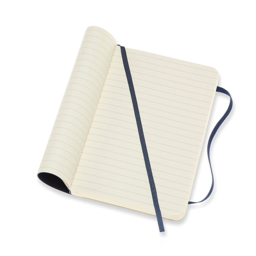 Moleskine Classic Notebook -  Softcover A6 - Ruled - Sapphire Blue
