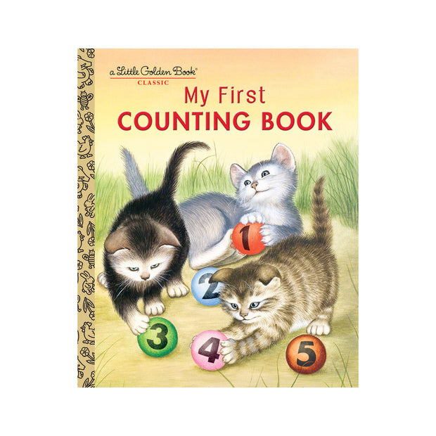 Little Golden Book - My First Counting Book