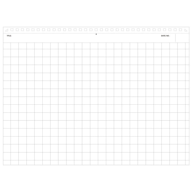 Maruman Mnemosyne Notebook - Grid - A4