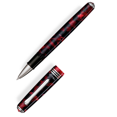 Tibaldi N60 Rollerball Pen - Ruby Red