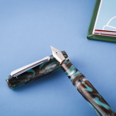 Narwhal Schuylkill Fountain Pen - Chromis Teal
