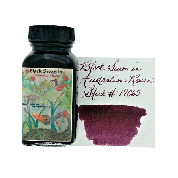 Noodlers - Black Swan Australian Roses - 3 Oz Bottled Ink