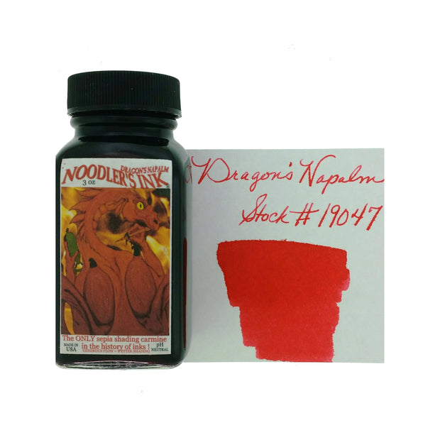 Noodlers - Dragons Napalm - 3 Oz Bottled Ink