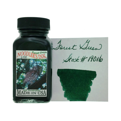 Noodlers - Forest Green - 3 Oz Bottled Ink