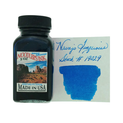 Noodlers - Navajo Turquoise - 3 Oz Bottled Ink