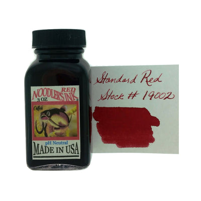 Noodlers - Red - 3 Oz Bottled Ink
