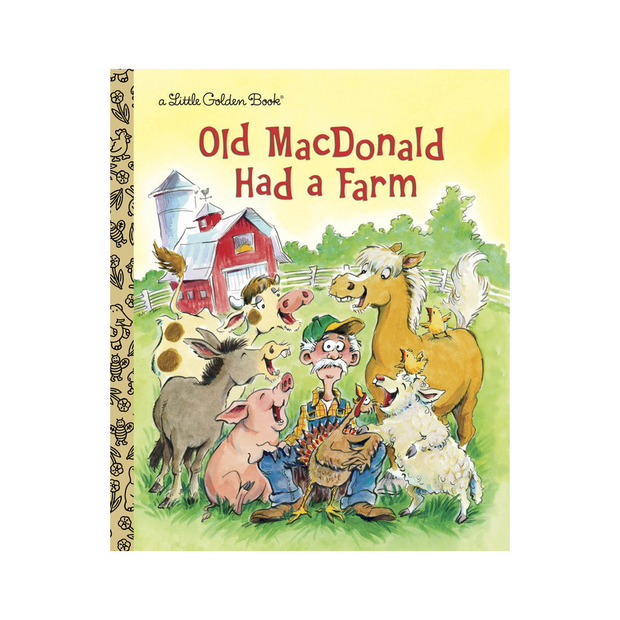 Little Golden Book - Old Macdonald Had A Farm